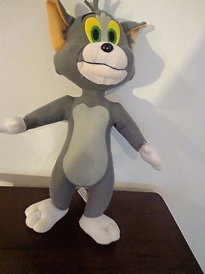 """TOM AND JERRY 14"""" Stuffed Animal Plush Brown JERRY MOUSE Toy Factory"""