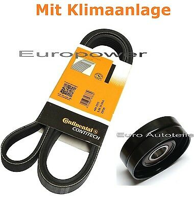 V-RIBBED BELTS+Tension Pulley VW Passat 2.8 V6 for with Air Conditioning NEW