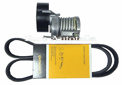 V-RIBBED BELTS+Tensioner Tension Pulley for Audi A1 A3 TT 1.6 2.0 TDI