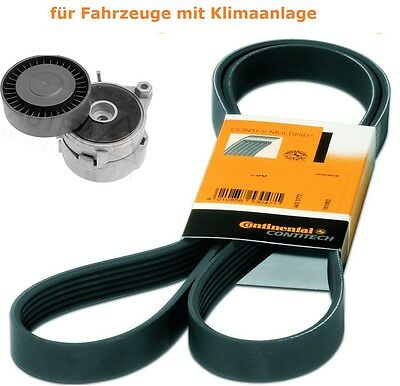 V-RIBBED BELTS+Tensioner Land Rover Freelander ZS 1.6 1.8
