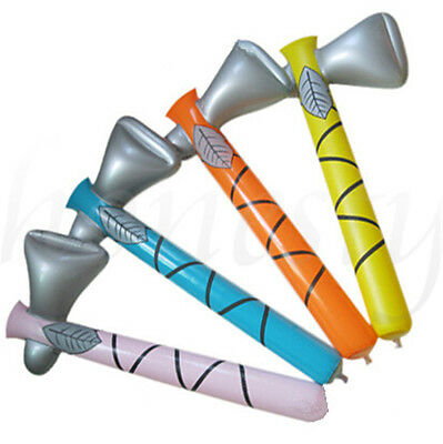 New 80cm PVC Inflatable Hammer Blow Up Toys Birthday Party Fun Kids Random Color