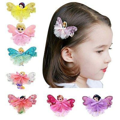Cartoon Girl Hairpin Barrette Baby Hair Clip