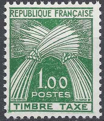 France Timbre Taxe N°94 Neuf ** Luxe Gomme D'origine Cote 40€