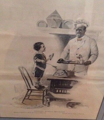 Vintage Cream of Wheat Advertisement Cooking Mama's Breakfast  1917 Brewer