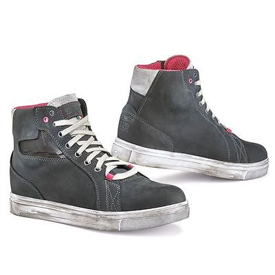 Scarpe Boots Street Ace Lady Dark Grey Waterproof Tcx Size 38