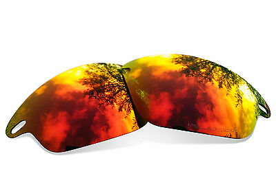 Fit&See Polarized Red Replacement Lenses for Oakley Fast Jacket XL