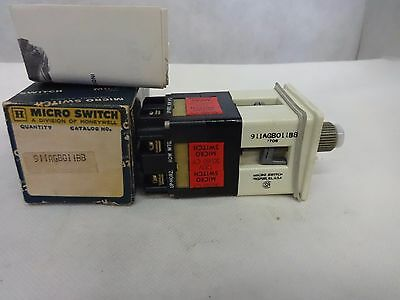 New Honeywell/microswitch 911Agb011Bb
