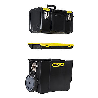 Stanley Tools STA170326 3-in-1 Mobile Work Centre 1-70-326 Tool Box Tool Chest