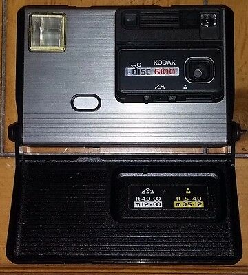 Vintage Kodak Disc Camera With Case And Original Box