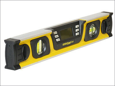 Stanley STA042063  FatMax Inclinometer 40cm Stanley FatMax Digital Level New