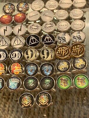 Harry Potter Novelty Cufflinks....deathly Hallow..platform 9 3/4