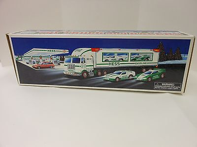 Hess 1997 Toy Truck and Racers Toy Trucks  NEW in Box