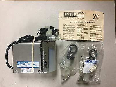 Gorman-Rupp Metering Pump Model 14250-005 With 2 Replacement Bellows H-427