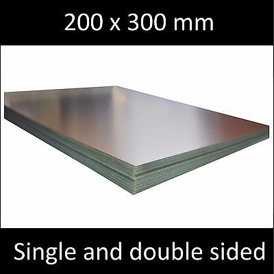 200x300 mm, Single and Double Side, Copper Clad Laminate Circuit Boards FR4 PCB.