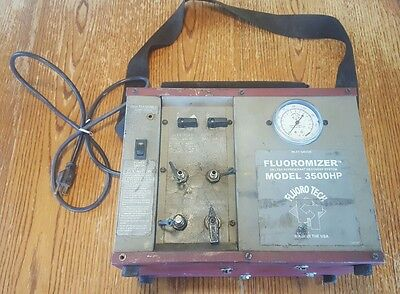 Fluoromizer Model 3500HP/ 3500 HP Oilless Refrigerant Recovery Machine