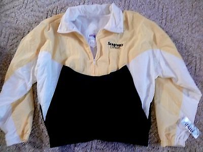 SEAGRAM'S COOLERS NWT VTG 80s 90s Nylon Windbreaker Jacket Mens XL MVP COR Inc
