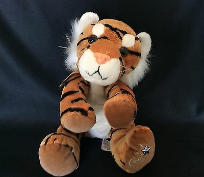 """Adorable SHINING STARS by Russ 8"""" Plush Toy TIGER CUB New"""