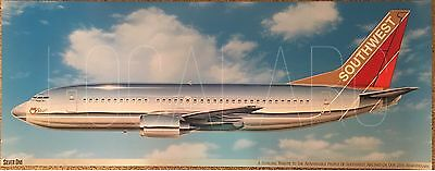 Southwest Airlines B737 Silver One livery poster