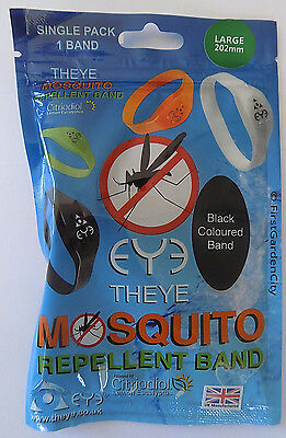Theye Eye Large Size Black Mosquito Band with Free Post and Packing