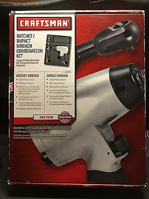 Craftsman Air Ratchet/Impact Wrench Combo Kit 875.19930 & 875.199820
