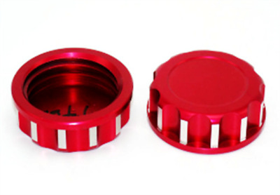 1pc Red Aluminum Cnc Gas Can Cover For