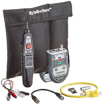 Triplett / Byte Brothers CTX200P Pocket CAT LAN Tester with Inductive Tone Probe
