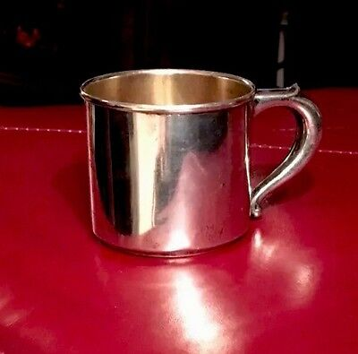 Wallace  Sterling Silver Baby Cup