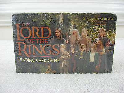 Lord of the Rings Fellowship of the Ring Trading Card Game Booster Box~New