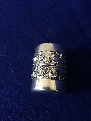Sterling Silver Thimble Holder