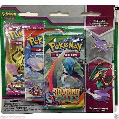 POKEMON Mega Latios Pin 3-Pack Blister: Pokemon TCG Roaring Skies booster!