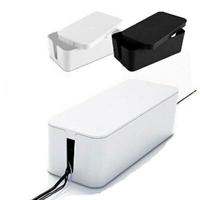 """L"" Baby child safe Electric Socket Box Case Cord Cable Organizer Cablebox"