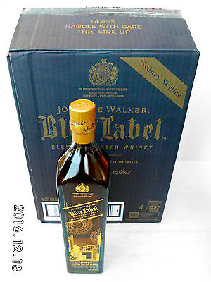 "Johnnie Walker Blue Label Ltd Edit Design ""Sydney""  Rare 700ml 40%- FULL CARTON!"