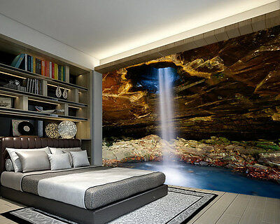 Glory Hole Falls USA Full Wall Mural Photo Wallpaper Print Kids Home 3D Decal