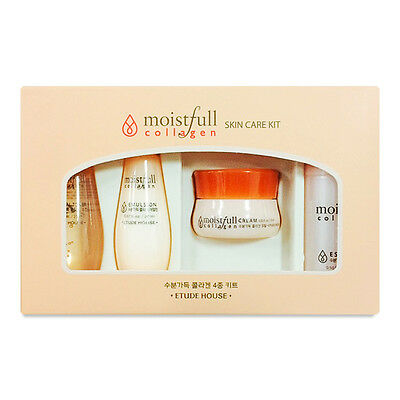 Etude House Moistfull Collagen Skin Care Sample Kit + Free Sample *UK Seller*