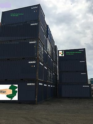 Storage Containers: Used 20' Conex Box / Shipping Container / Newark, Nj Steel