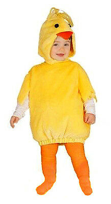 Boys Girls Kids Toddler Chick Costume Fancy Dress Chicken Outfit Easter 1-2 YR