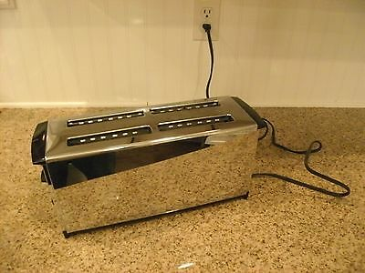VINTAGE COLLECTIBLE PROCTOR -SILEX 1 TO 4 SLICE TOASTER R20535 w/COLOR TUNER