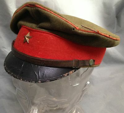 Vintage WWII Japanese Army Military cap hat M0207