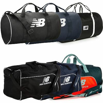 New Balance Barrel Duffle Bag - Black, Blue