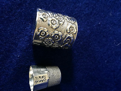 Sterling Silver Thimble Holder European
