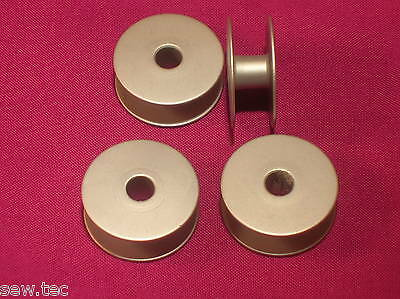 4 Large Capacity Aluminum Bobbin For Industrial Sewing Machines Fits Brother