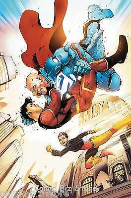 New Super Man #9 (2017) 1St Printing Bagged & Boarded Dc Universe Rebirth