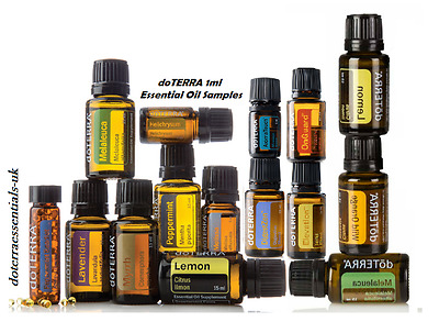 doTERRA Essential Oils SAMPLES 1ml  ***BUY 3 GET 1 FREE***