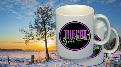 Arctic Cat snowmobile vintage style coffee mugs (2), The Cat, It's an Animal