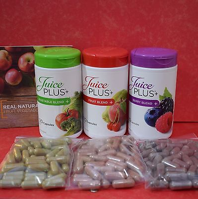 Juice Plus Premium Berry Fruit Vegetables Capsules  *Free Delivery*