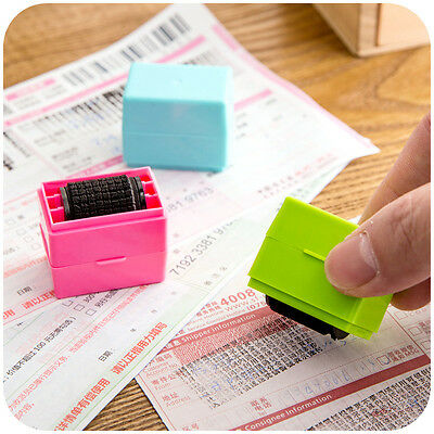 Security Hide ID Garbled Rubber Stamp Protect Document File Identity Theft Stick