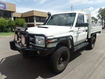 2008 Toyota Landcruiser VDJ79R Workmate Manual 5sp M Cab Chassis