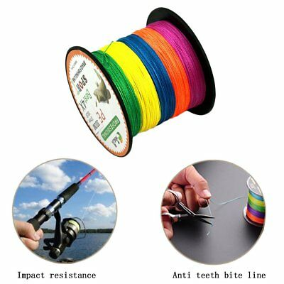 Colorful 4 Series 300M Super Strong Multifilament PE Braided Fishing Line GT