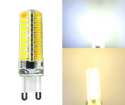 USA Shipping 8pcs G9 Led Dimmable bulb 5W 80-5730 SMD 110~120V Silicone Crystal