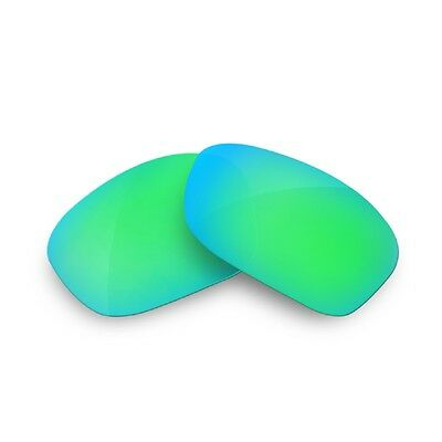 Fit&See Polarized Emerald Green Replacement Lenses for Oakley Fives Squared